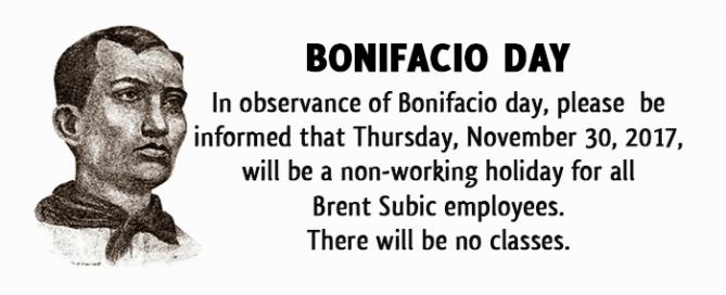 bonifacioday113017